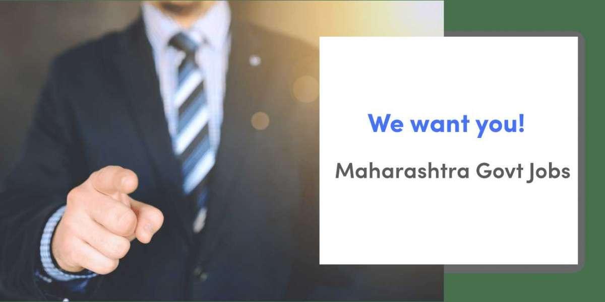 Latest Maharashtra Govt Jobs